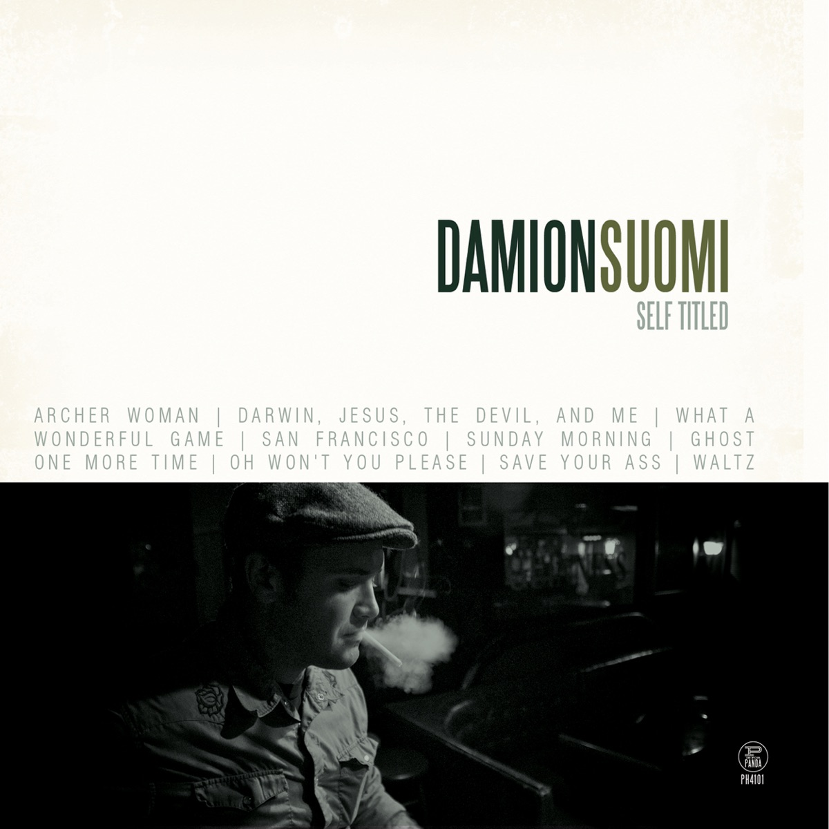 Self Titled Damion Suomi  The Minor Prophets CD cover