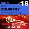 Sing Alto Country Vol 16 Karaoke Performance Tracks