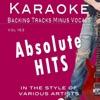 Backing Tracks Minus Vocals - Break Your Heart