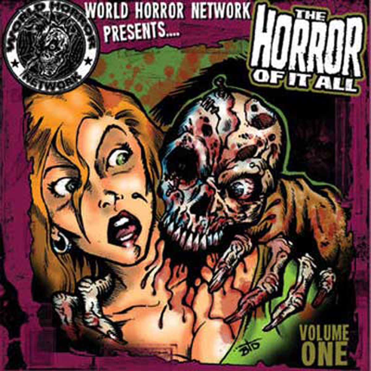 The Horror Of It All Vol 1 Various Artists CD cover