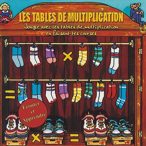 Couter et apprendre les tables de multiplication par - Apprendre les tables de multiplication en chanson ...