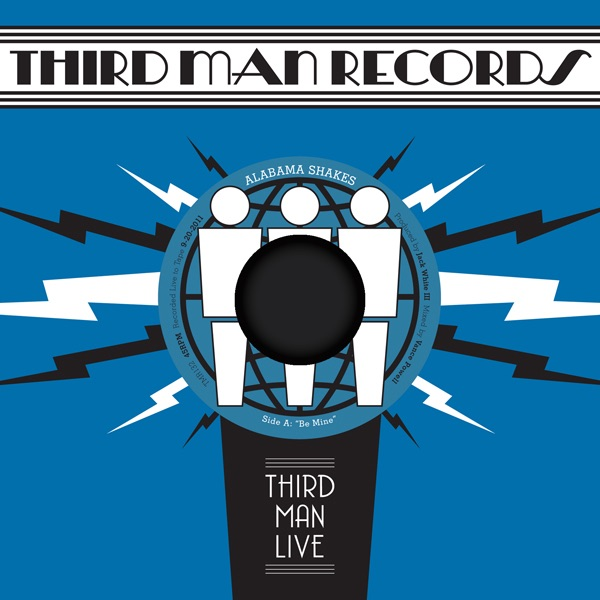 Live at Third Man 9 20 2011 - Single Album Cover by Alabama