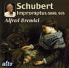 Schubert: Impromptus (complete); Moments Musicaux (selected) ジャケット写真