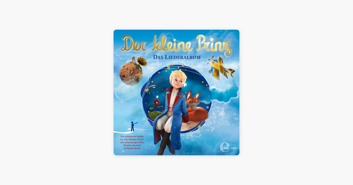 Der Kleine Prinz Das Liederalbum Die Schönsten Lieder Mit Stimmungsvollen Zitaten Aus Dem Original Buch Von Der Kleine Prinz