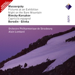 Mussorgsky: Pictures at an Exhibition & Night on the Bare Mountain - Rimsky-Korsakov: Capriccio espagnol