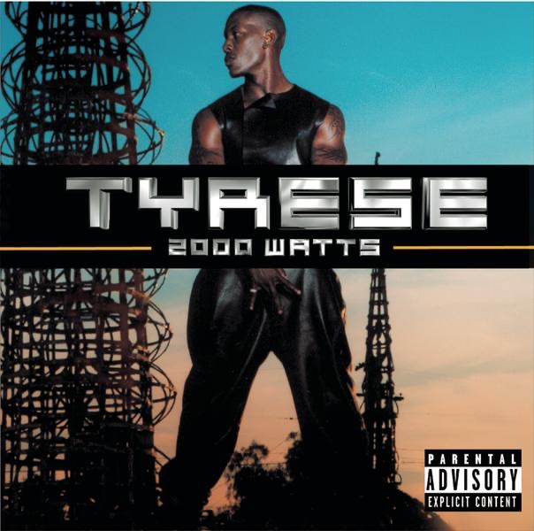 2000 Watts Tyrese CD cover