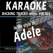 Backing Tracks in the style of Adele (Backing Tracks)