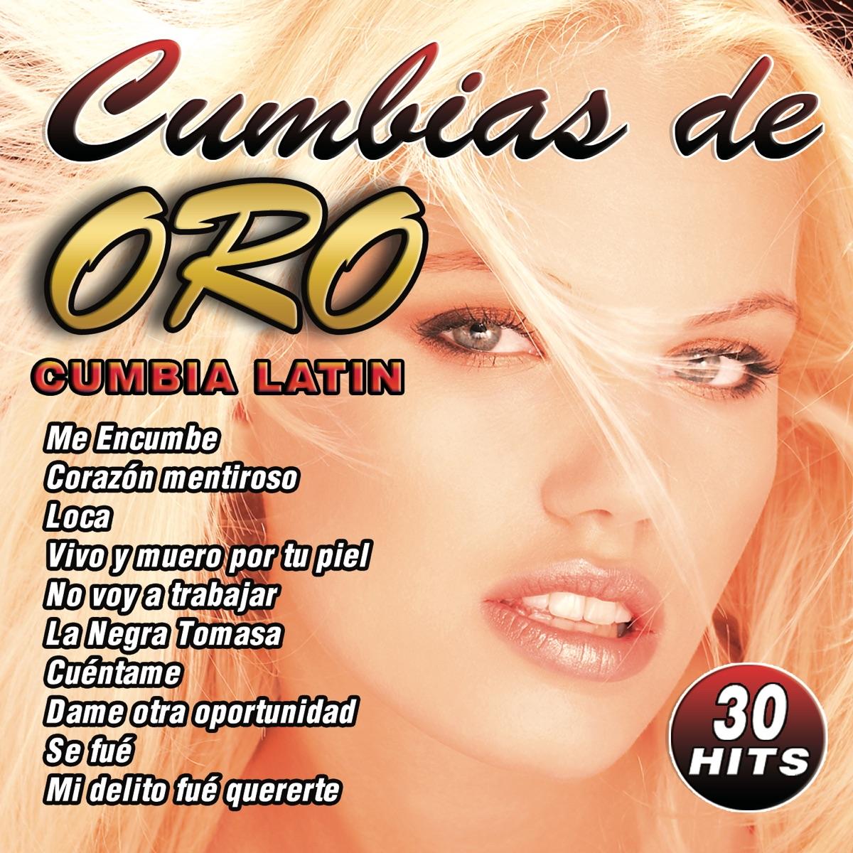 Cumbias de Oro Album Cover by Cumbia Latin Band