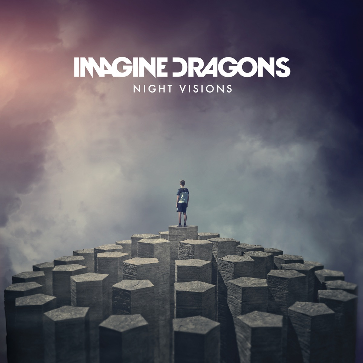 Night Visions Deluxe Version Imagine Dragons CD cover