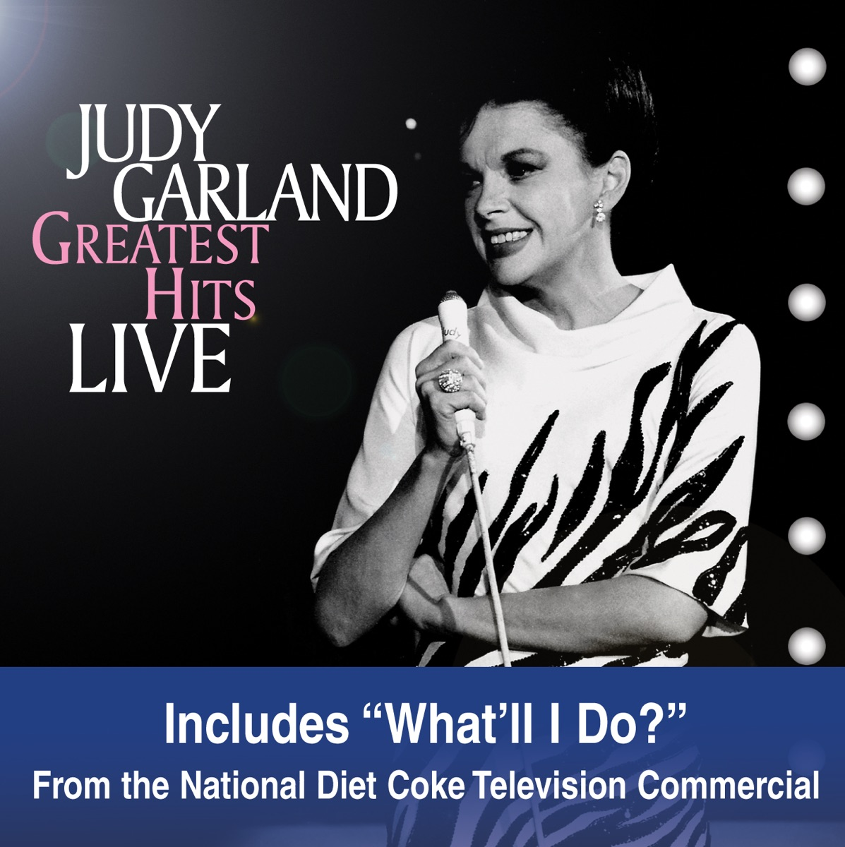 Greatest Hits Live Album Cover by Judy Garland