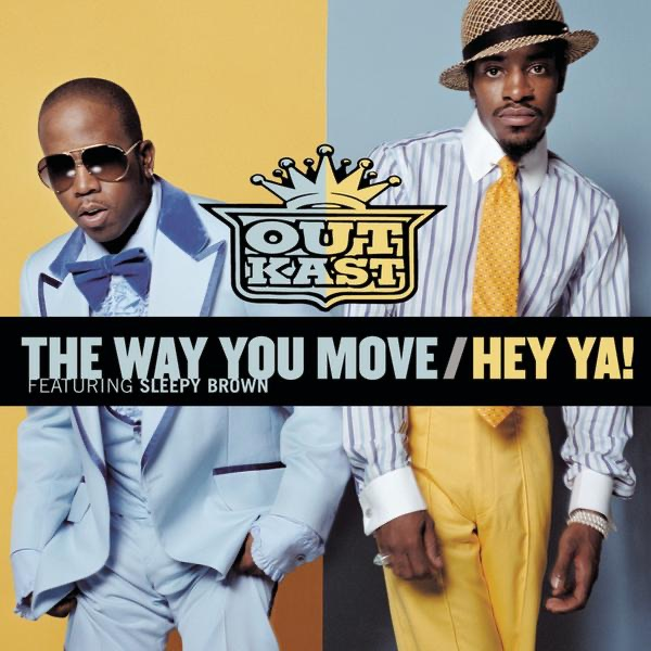 The Way You Move  Hey Ya - EP Outkast CD cover
