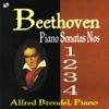 ベートーヴェン:ピアノ・ソナタ 第1・2・3・4番 ジャケット写真