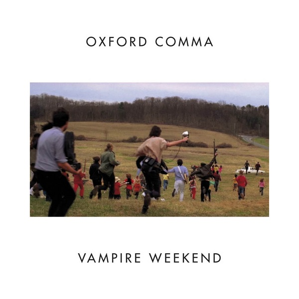 Oxford Comma - Single Vampire Weekend CD cover