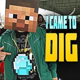 I Came To Dig Minecraft Rap Feat Captainsparklez