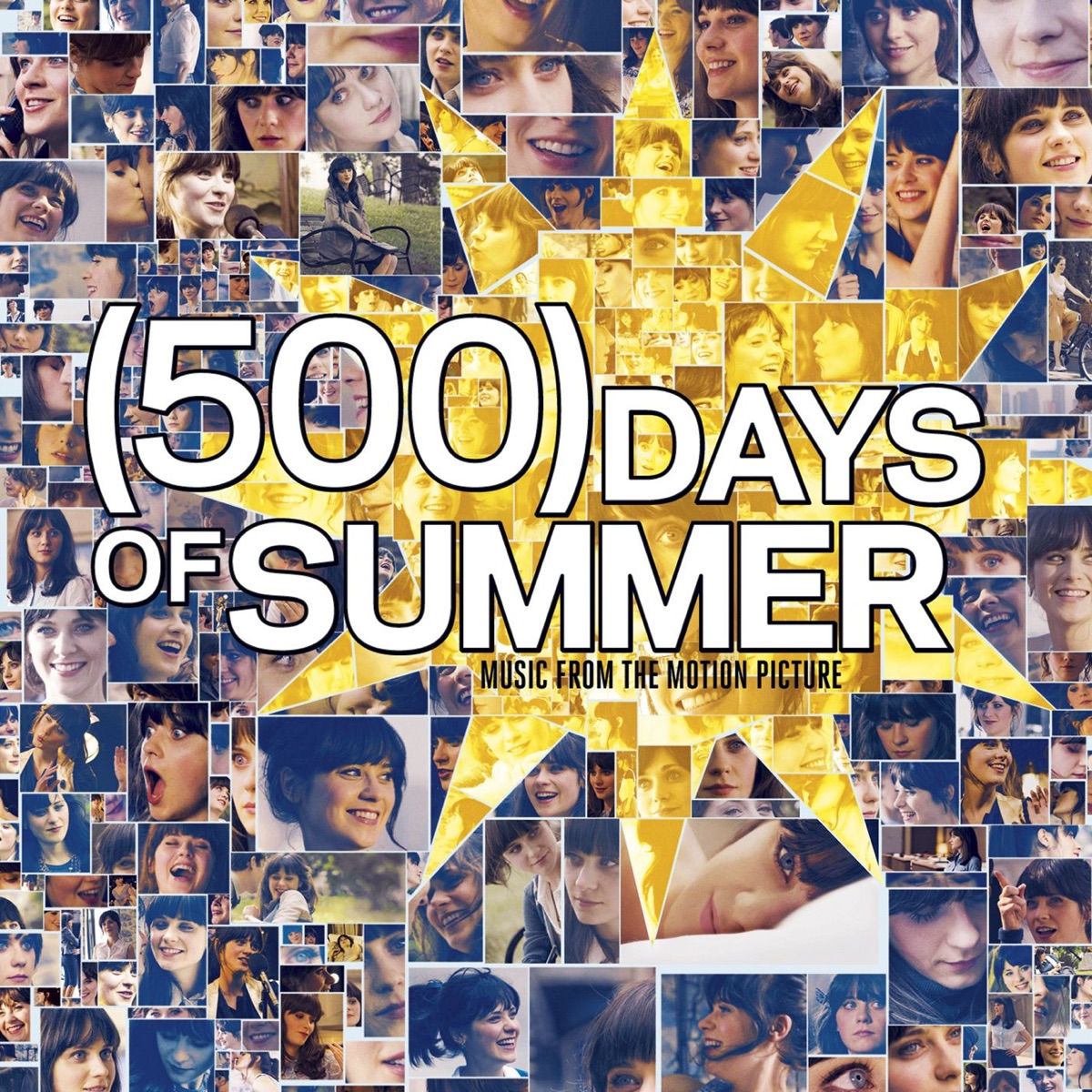 500 Days of Summer Music from the Motion Picture Various Artists CD cover