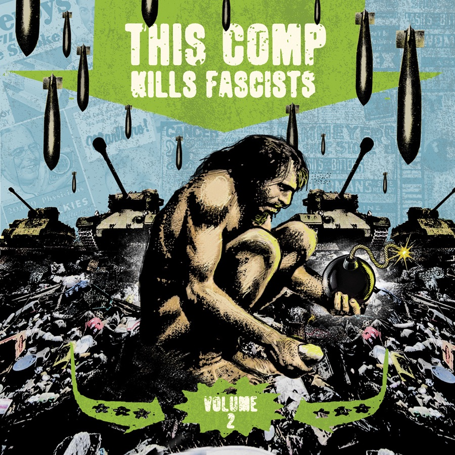 This Comp Kills Fascists Volume 2 Various Artists CD cover