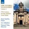 The Guerra Manuscript, Vol. 2, Juan Sancho, Manuel Vilas, Ars Atlantica & Eligio Quinteiro