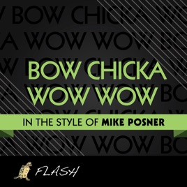 Bow Chicka Wow Wow Originally Performed By Mike Posner Karaoke