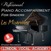On My Own ('Les Miserables' Piano Accompaniment) [Karaoke Backing Track]