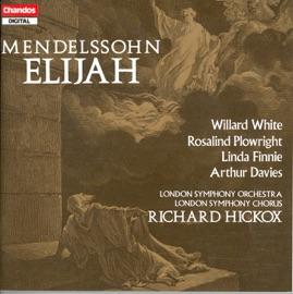 Elijah Op 70 Sung In English Part I Recitative O Man Of God Help Thy People Obadiah Elijah The Youth Chorus