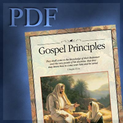 Lds Gospel Principles Pdf By The Church Of Jesus Christ Of Latter