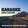 Karaoke: John Denver ジャケット写真
