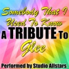 Somebody That I Used to Know (A Tribute to Glee) - Single, Studio All-Stars