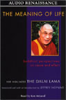 His Holiness the Dalai Lama - The Meaning of Life: Buddhist Perspectives on Cause and Effect (Abridged Nonfiction) artwork