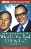 BBC Worldwide - Morecambe and Wise: Volume 2, What Do You Think of It So Far? (Original Staging Fiction) artwork