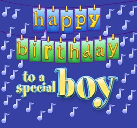 Happy Birthday Traditional Song Sung To The Boy