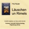Fritz Reuter - Läuschen un Rimels Grafik