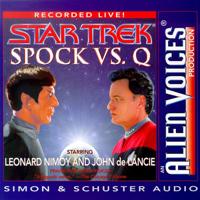 Leonard Nimoy - Star Trek: Spock Vs. Q artwork