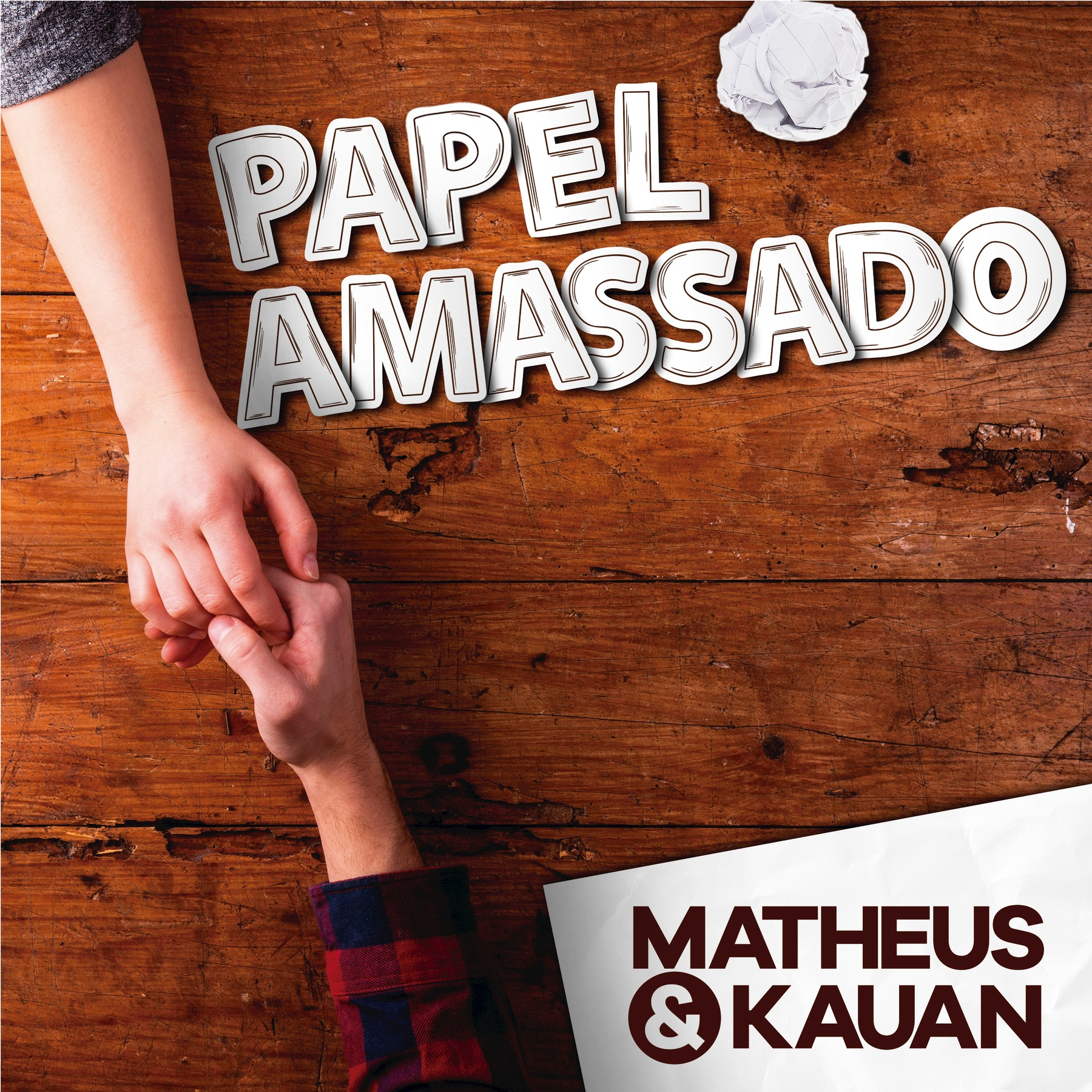 Papel Amassado (Na Praia 2 / Ao Vivo) - Single