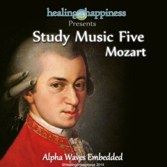 String Quartet No.15 in D Minor, Op. 10 No. 2, K. 421 (Study Music with Alpha Waves)