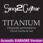 Titanium (Originally Performed By David Guetta & Sia) [Guitar Karaoke Version]