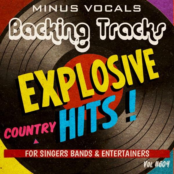 Explosive Hits Country Backing Tracks Vol 604 (Instrumental Karaoke Backing Track)