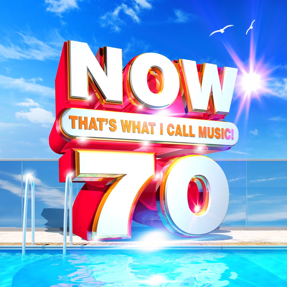 NOW Thats What I Call Music Vol 70 Various Artists CD cover
