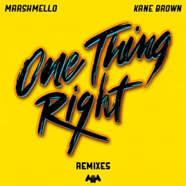 Marshmello - One Thing Right (Remixes) - EP (2019) LEAK ALBUM