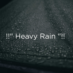 "Rain Sounds & Rain for Deep Sleep - !!"" Heavy Rain ""!!"