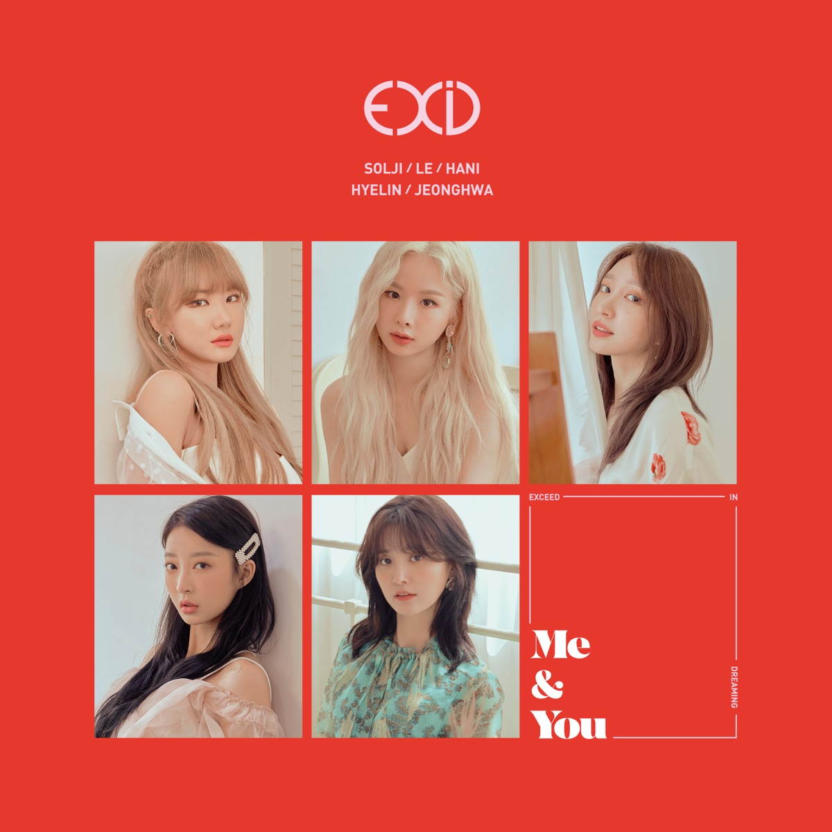 WE EXID CD cover