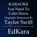 You Need to Calm Down (Originally Performed by Taylor Swift) [Karaoke No Guide Melody Version] - EdKara