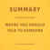 Milkyway Media - Summary of Lori Gottlieb's Maybe You Should Talk to Someone (Unabridged)