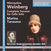Marina Tarasova - Weinberg: Complete Sonatas for Solo Cello artwork