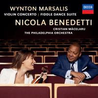 ニコラ・ベネデッティ, フィラデルフィア管弦楽団 & クリスティアン・マチェラル - Marsalis: Violin Concerto, Fiddle Dance Suite artwork