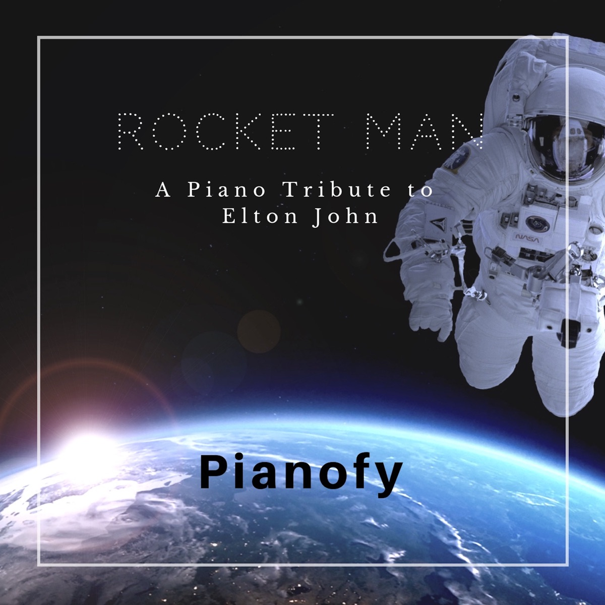 Rocket Man A Piano Tribute to Elton John Pianofy CD cover