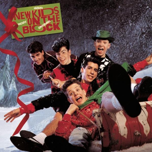 New Kids On the Block mit Last Night I Saw Santa Claus
