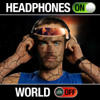 Fearless Motivation - Headphones on World Off