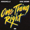 One Thing Right - Single