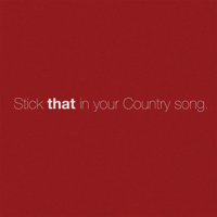 Album Stick That in Your Country Song - Eric Church