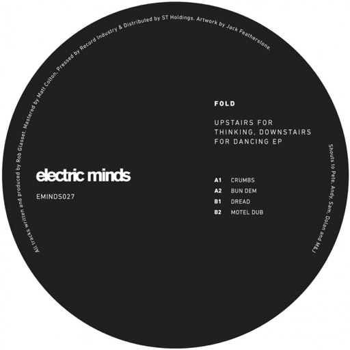 Upstairs for Thinking, Downstairs for Dancing - EP by Fold